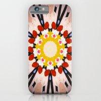iPhone & iPod Case featuring Watermelon Sunflower by Laurkinn12