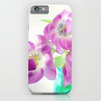 Violet Tulips iPhone 6 Slim Case