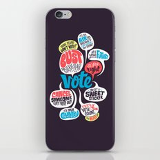 Vote! iPhone & iPod Skin