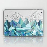 Colorflash 3 Turquoise Laptop & iPad Skin