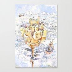 The Flower City Canvas Print