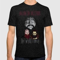 WWE - The Wyatt Family Mens Fitted Tee Tri-Black SMALL