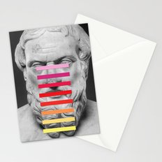 Sculpture With A Spectrum 2 Stationery Cards