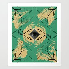 In the Eye of the Beholder Art Print