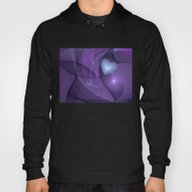 A Lonely Heart Fractal A… Hoody