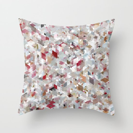 Chameleonic Panelscape Jacopo Throw Pillow