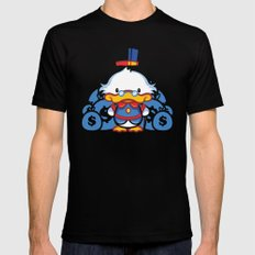 Hello Scroogie SMALL Mens Fitted Tee Black