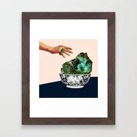 GEODE Framed Art Print