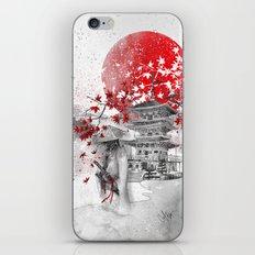 the warrior path iPhone & iPod Skin
