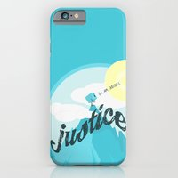 iPhone & iPod Case featuring Justice !.. by Oblivion Creative