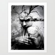 Less Like You More Like … Art Print