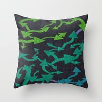 Round-About Throw Pillow