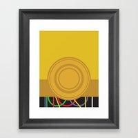 Star Wars - C3PO Framed Art Print