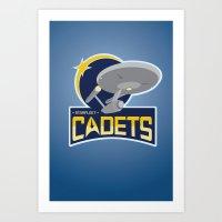 Starfleet Cadets Art Print