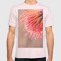 Hakea Flower 1 Mens Fitted Tee Light Pink SMALL