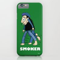 iPhone & iPod Case featuring Smoker  by NIXA