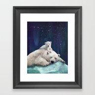 Polar Bears Framed Art Print