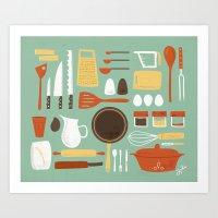 Kitchen Inventory Art Print