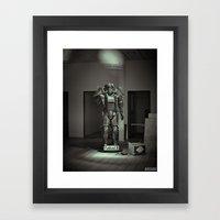 Forgotten Relic Framed Art Print