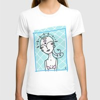 Mirror Mirror Womens Fitted Tee White SMALL
