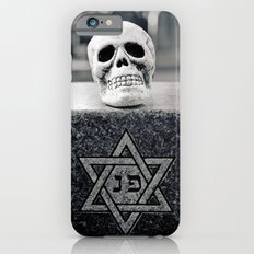 Graveyard skull iPhone 6 Slim Case