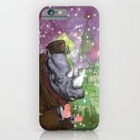 iPhone & iPod Case featuring Russian Rhino by Blake Boenecke