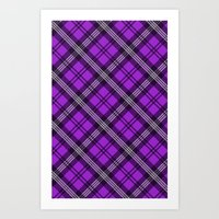 Scottish Plaid (Tartan) … Art Print