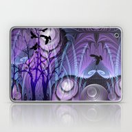 Laptop & iPad Skin featuring Magical Swamp by Thea Walstra