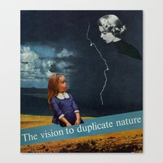 Carbon Copy Canvas Print