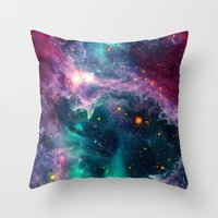 Pillars of Star Formation Throw Pillow