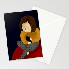 Me and my bird Stationery Cards
