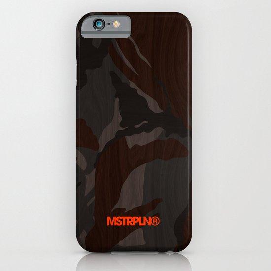 Modern Woodgrain Camouflage / British DPM iPhone & iPod Case