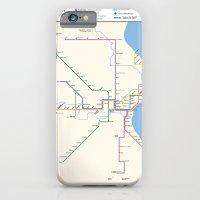 Milwaukee Transit System Map iPhone 6 Slim Case