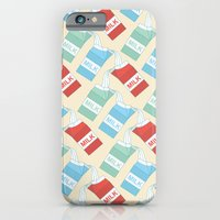 iPhone & iPod Case featuring Don't cry over spilt milk by Kimberly Carpenter