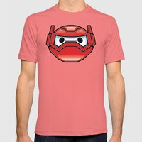 Robot In Disguise Mens Fitted Tee Pomegranate SMALL