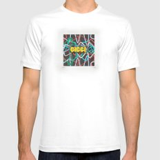 Giggi Knox Mens Fitted Tee SMALL White