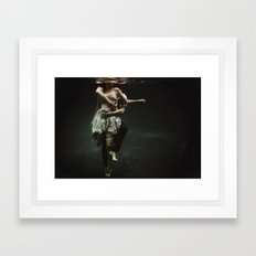 abyss of the disheartened : V Framed Art Print