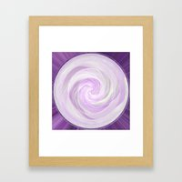 Swirl Framed Art Print