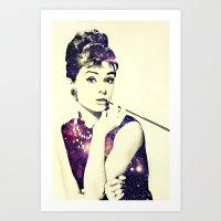 Cosmic Audrey Art Print