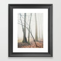 Foggy Morning  Framed Art Print