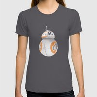 BB8 Womens Fitted Tee Asphalt SMALL