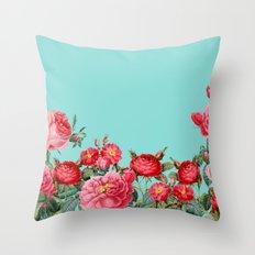 Fab Floral Throw Pillow