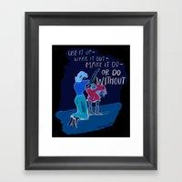 Use It Up! Framed Art Print