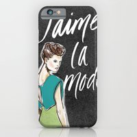 iPhone & iPod Case featuring I Love Fashion by Nett Designs