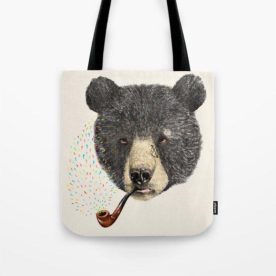 BLACK BEAR SAILOR Tote Bag