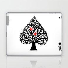 Ace of spade Laptop & iPad Skin