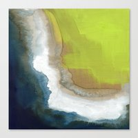 Surf Abstraction Canvas Print