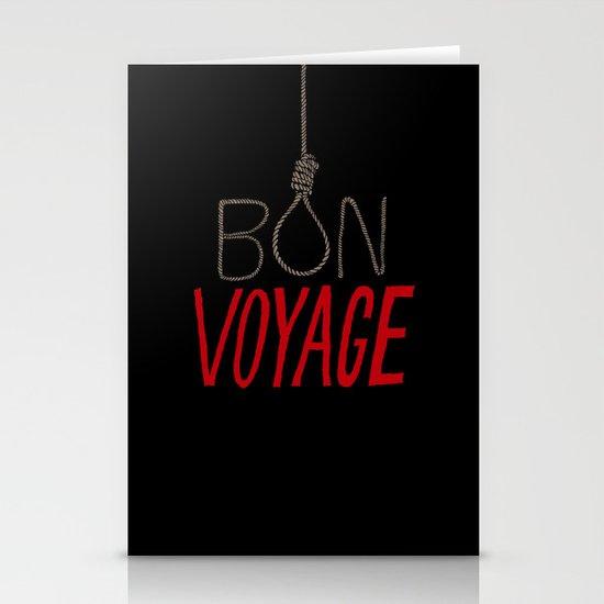 Bon Voyage Stationery Card