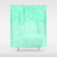 Becho Rays Shower Curtain