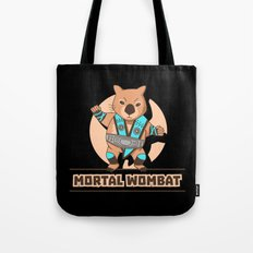 Mortal Wombat Tote Bag